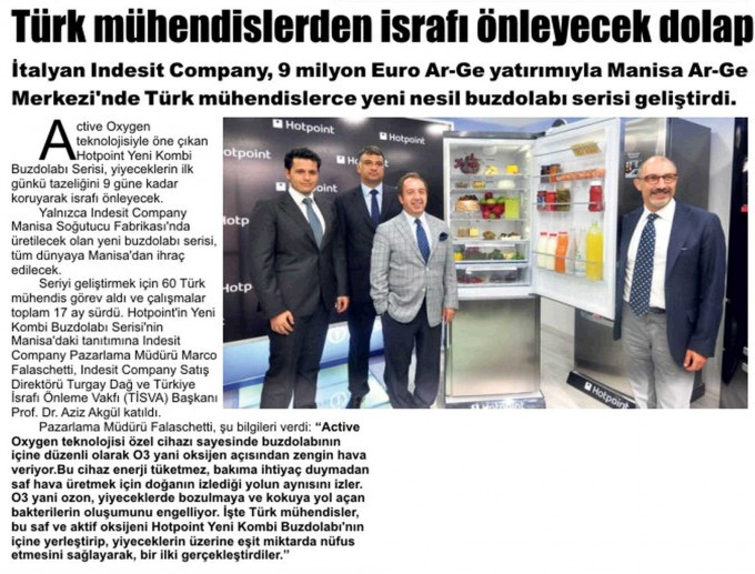 Press release in Manisa July 2012
